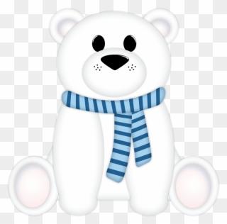 Free PNG Winter Polar Bear Clip Art Download.