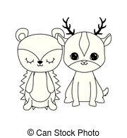 Winter porcupine Clipart and Stock Illustrations. 20 Winter.