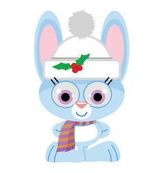 Blue Rabbit Clipart Vector Images (45).