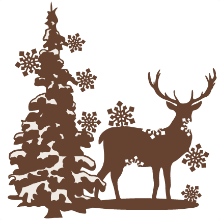 5226 Reindeer free clipart.