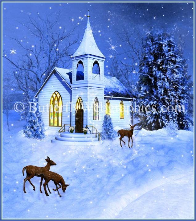Church clipart winter, Church winter Transparent FREE for.