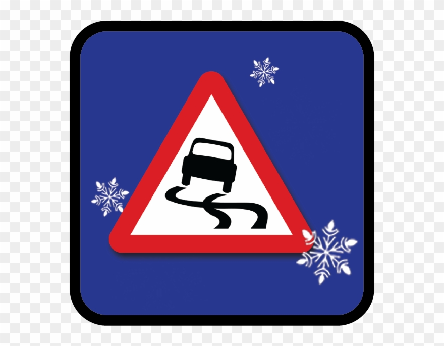Winter Road Safety Clipart (#2674185).