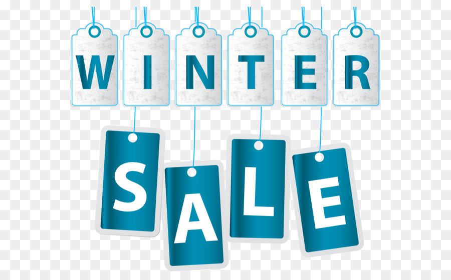 Winter Sale png download.