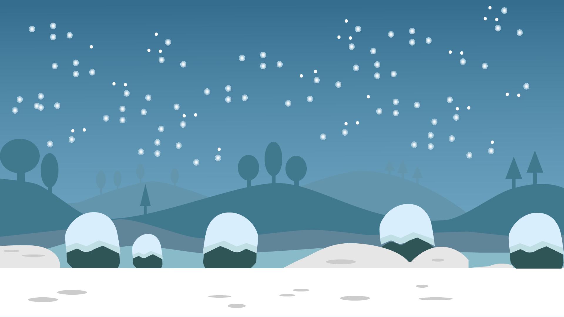 Winter scene clipart - Clipground