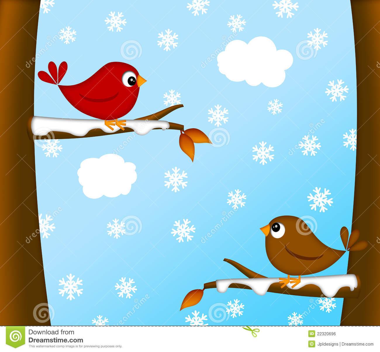 714 Winter Scene free clipart.