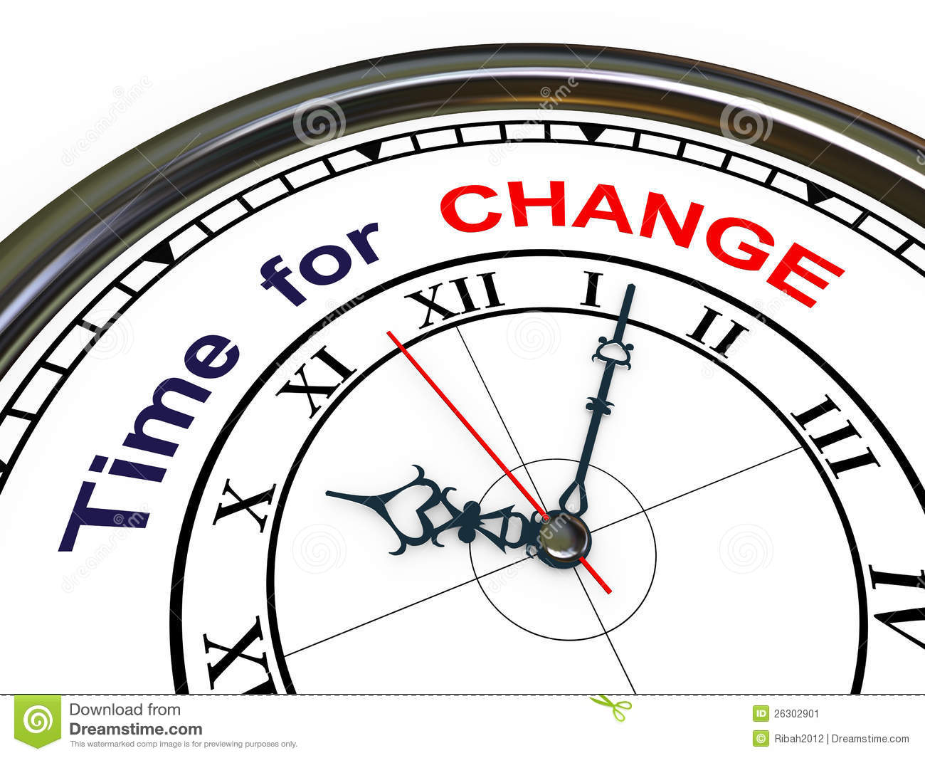 Time Change Clock Clipart.