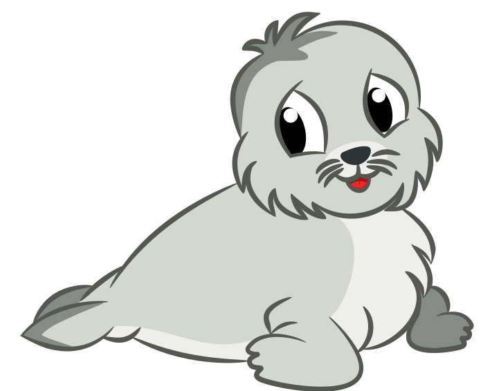 Seal clipart winter seal, Seal winter seal Transparent FREE.
