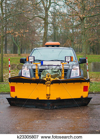Picture of Road services are ready for winter. Winter service.