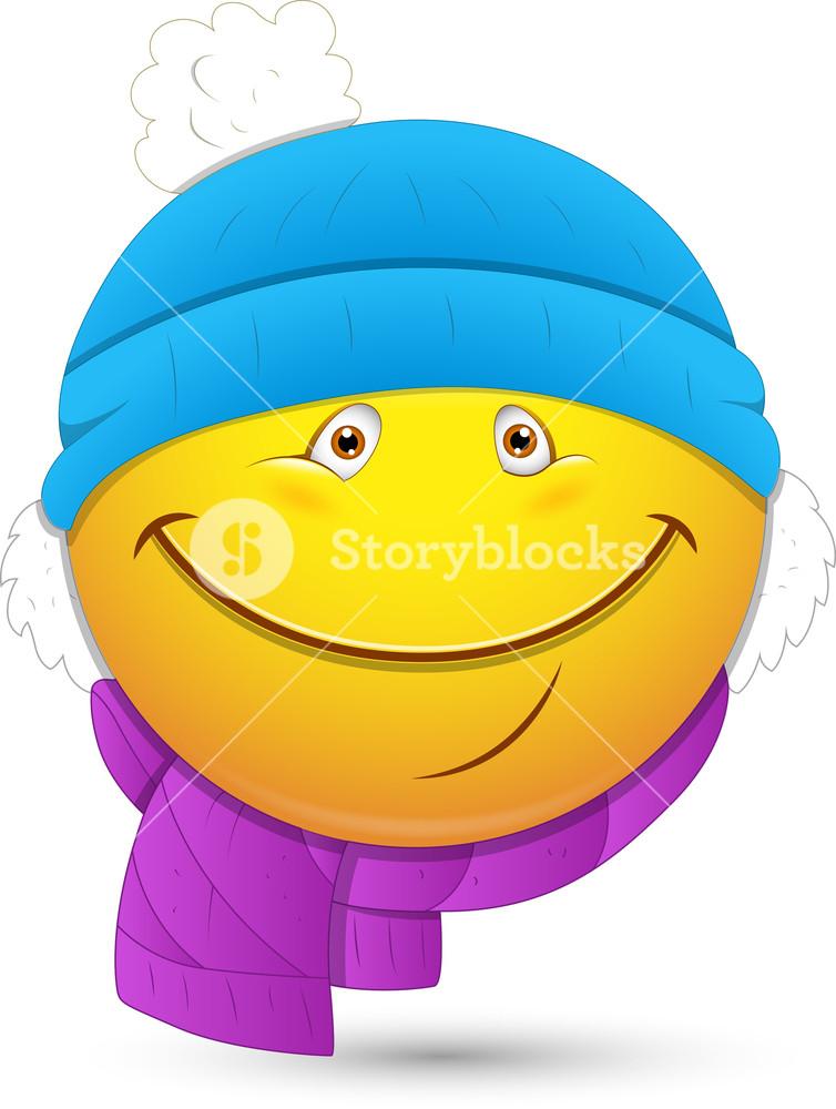 Smiley Vector Illustration.
