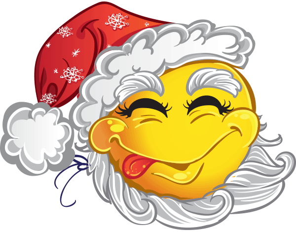 Old Man Winter Smiley.
