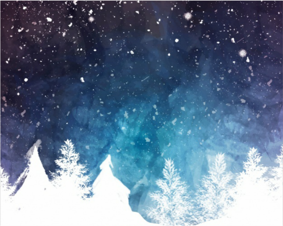winter #snow #background #sky.