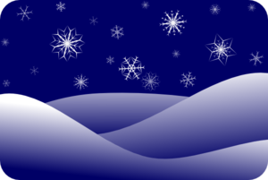 Snow winter clipart #10