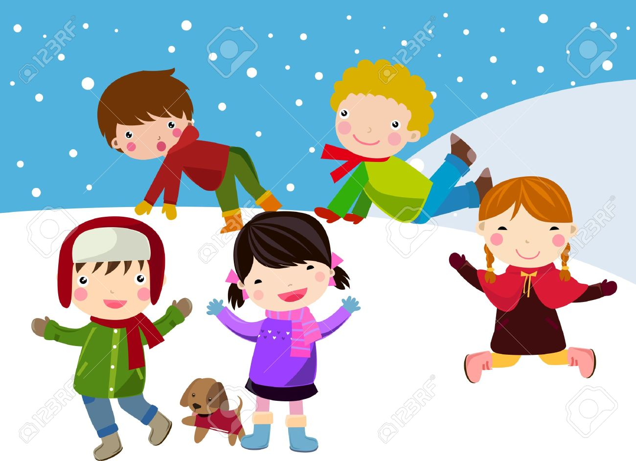 Snow Clip Art Winter.