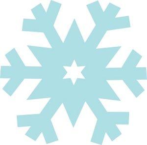 Free Snowflake Clipart Image:.