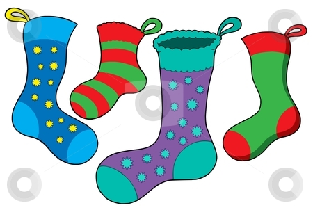 Related Keywords & Suggestions for Winter Socks Clipart.
