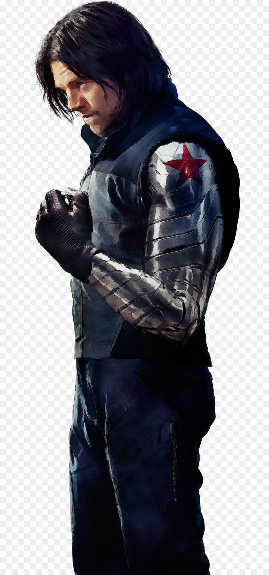 Bucky Barnes Captain America: The Winter Soldier Sebastian Stan.