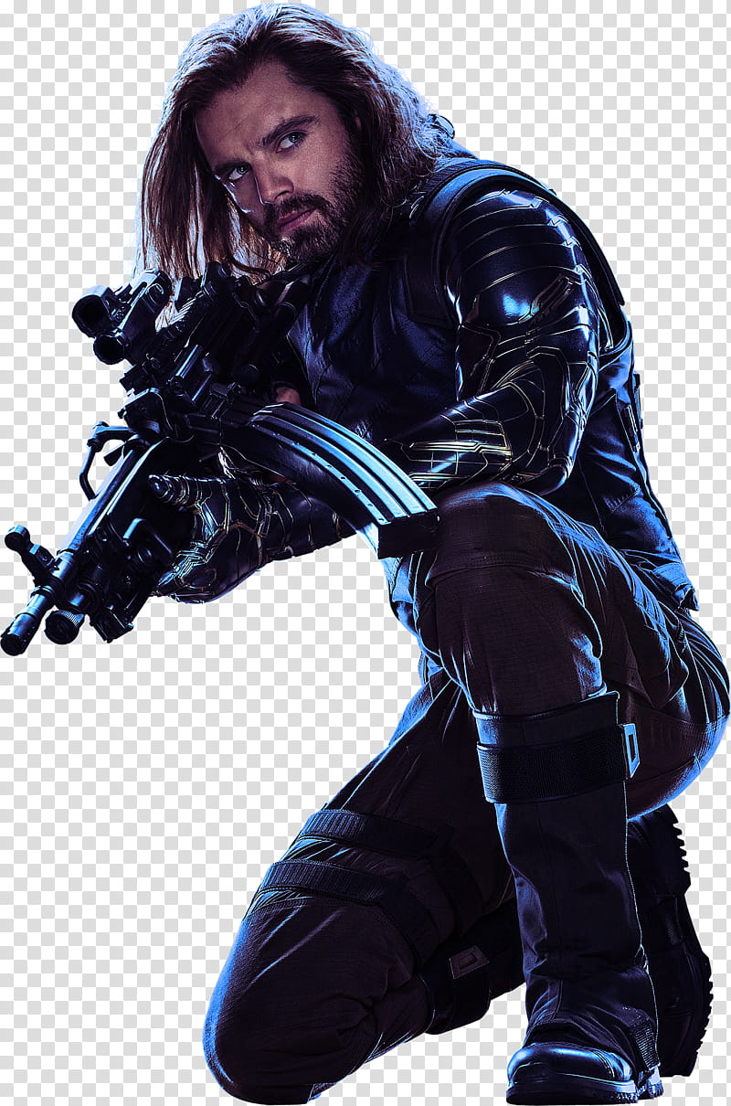 Winter Soldier transparent background PNG clipart.