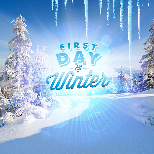 This a Picture of the Winter Solstice., The day of the wi.