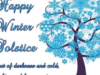 Winter Solstice Clipart.