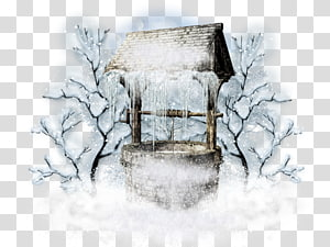 Winter solstice transparent background PNG cliparts free.