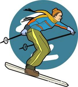 Winter Sports Clipart : spo19 : Classroom Clipart.