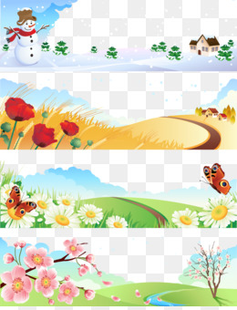 Spring Summer Fall Winter And Spring PNG and Spring Summer.