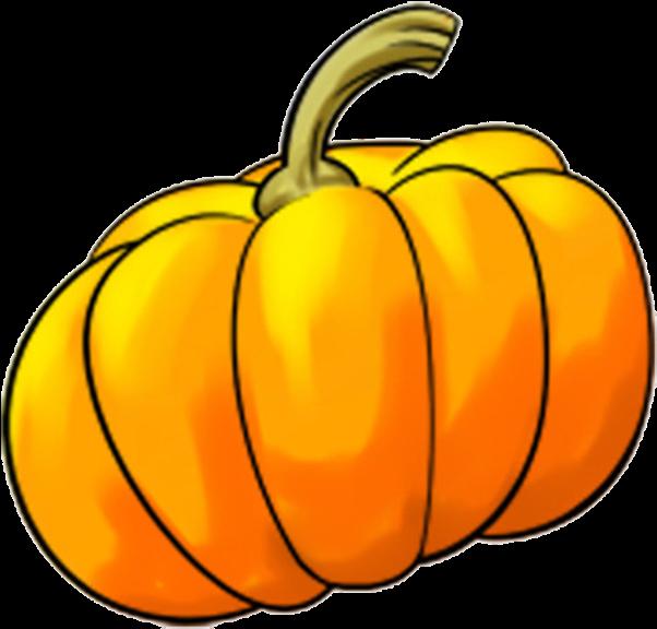 Calabaza Pumpkin Winter Squash Clip Art A.