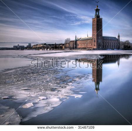 Stockholm Winter Stock Photos, Royalty.