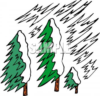 Snow Storm Clipart.