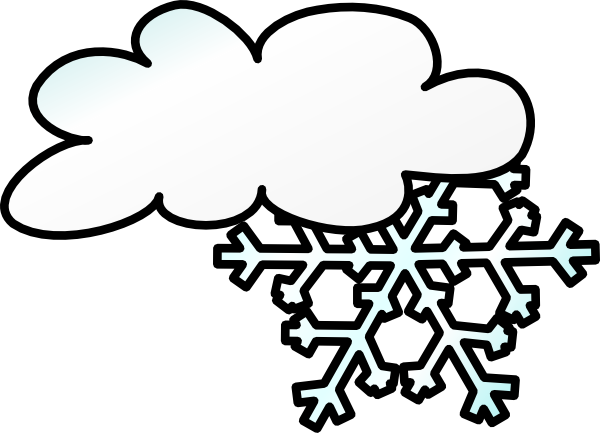 Winter Storm Animated Clipart.