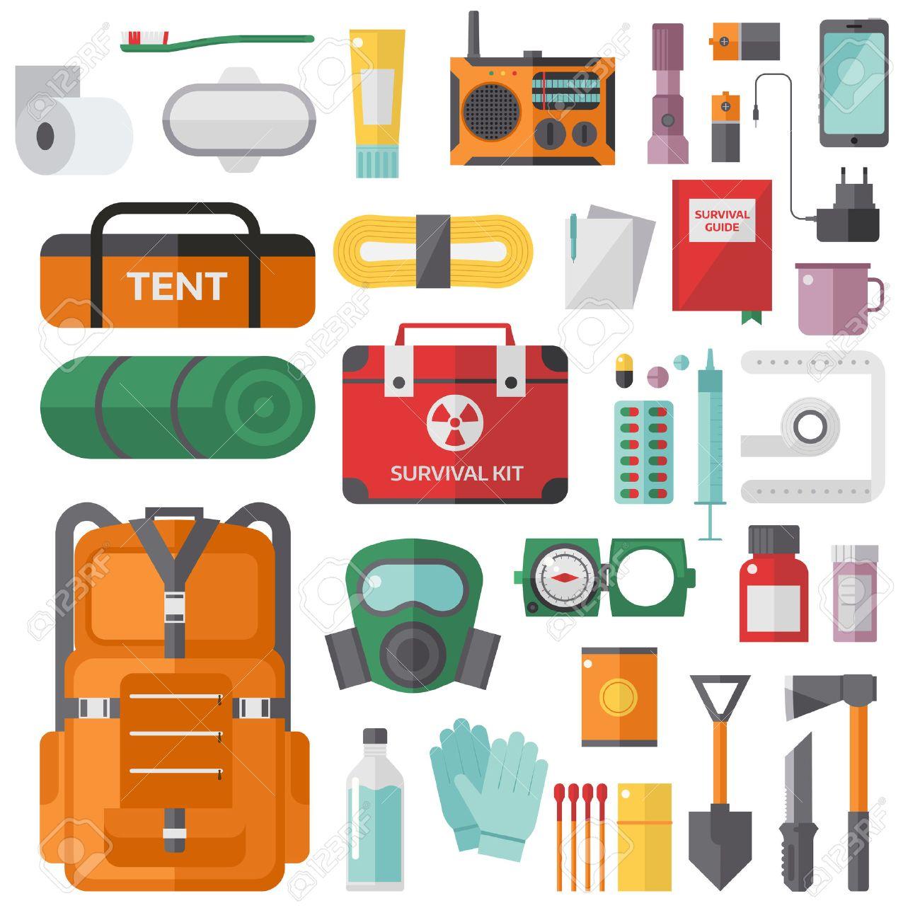 Emergency Kit Clipart.
