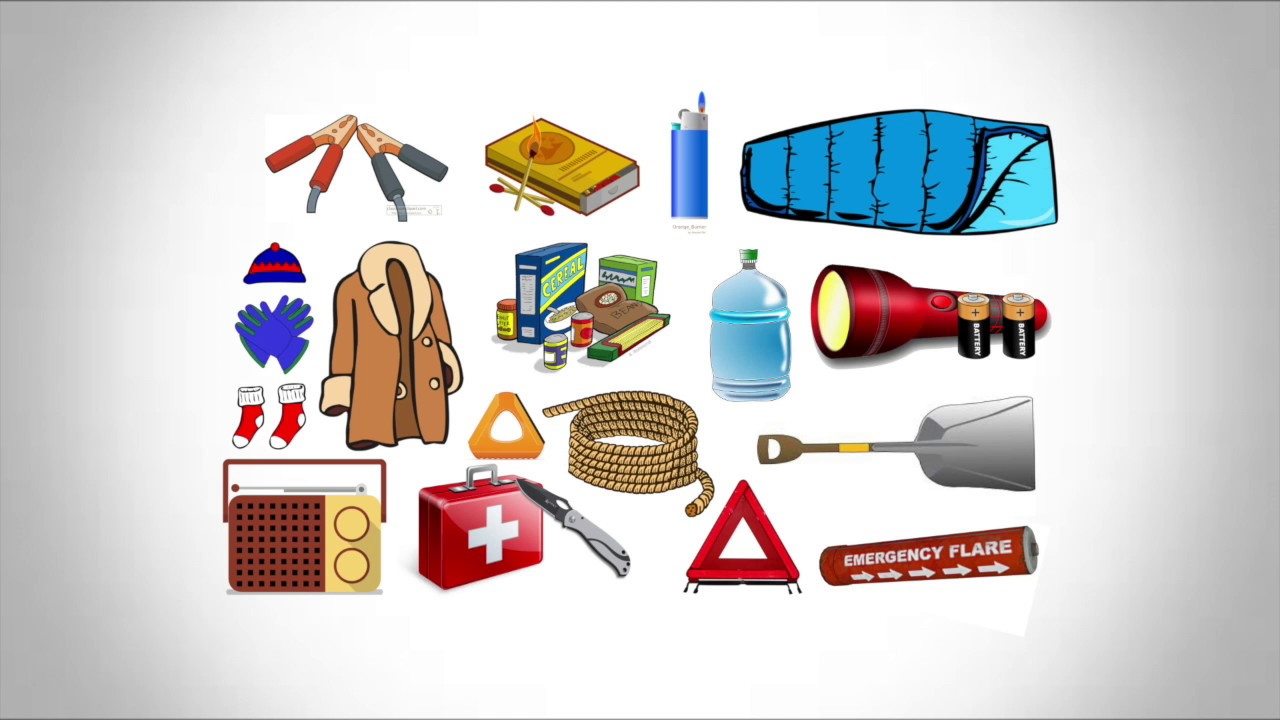 How To: Make a Winter Emergency Kit for Car.