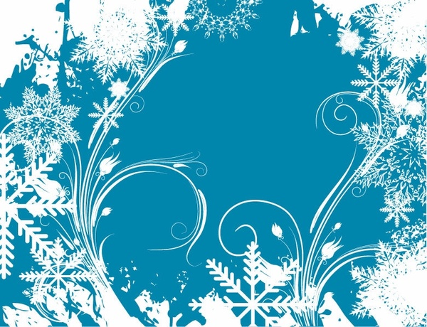 Free Vector Graphic Winter Swirls Free vector in.