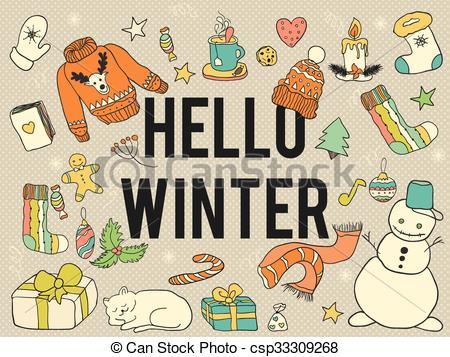 Hello winter..