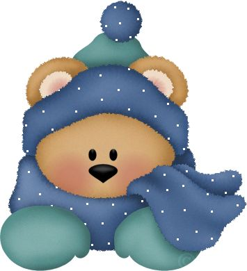 Bear Winter Clipart.