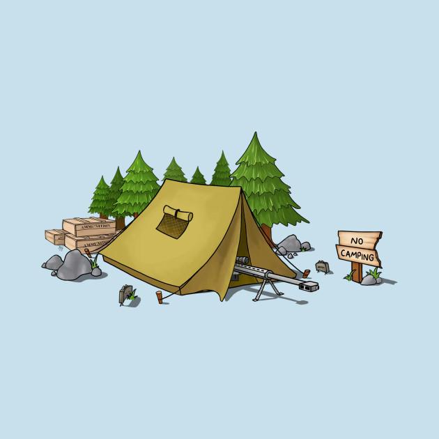 no camping!.