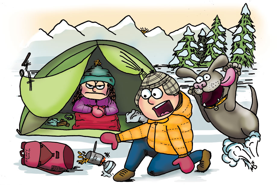 Mountain Outlaw magazine: Winter Camping.