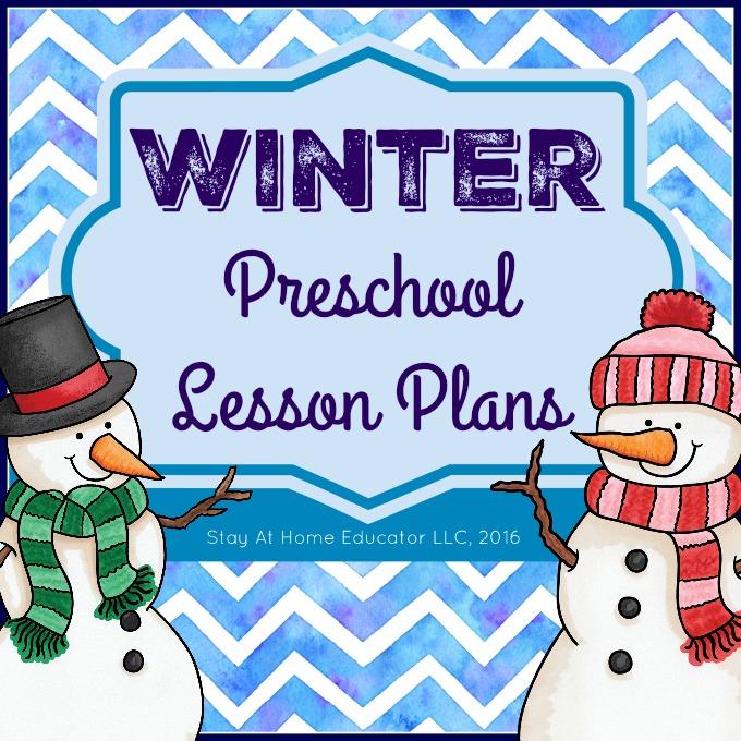 Winter Theme Preschool Lesson Plans.