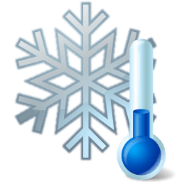 Winter Thermometer Clipart.