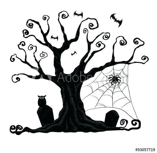 halloween trees.