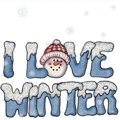 Winter Time Clip Art.