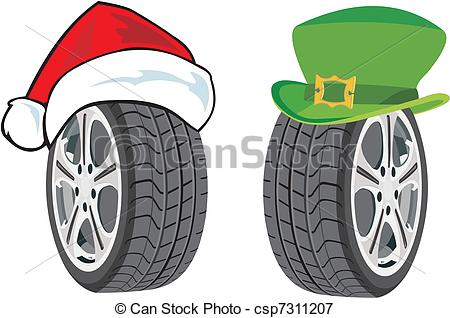 Summer tires Vector Clip Art EPS Images. 452 Summer tires clipart.