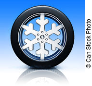 Snow tire Illustrations and Clipart. 348 Snow tire royalty free.