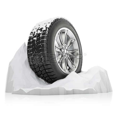 Single tire skid clipart negative background.
