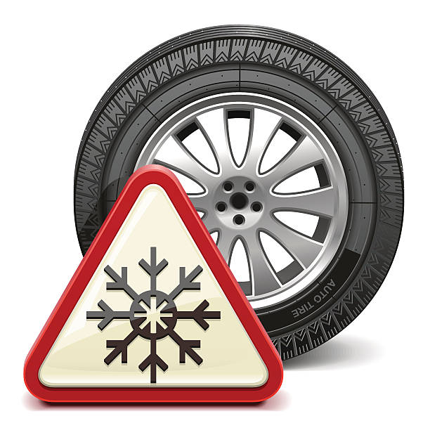 Snow Tires Clip Art, Vector Images & Illustrations.