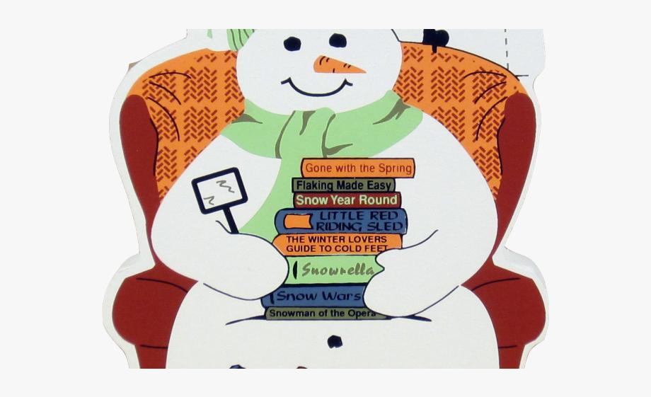 13144 Snowman free clipart.