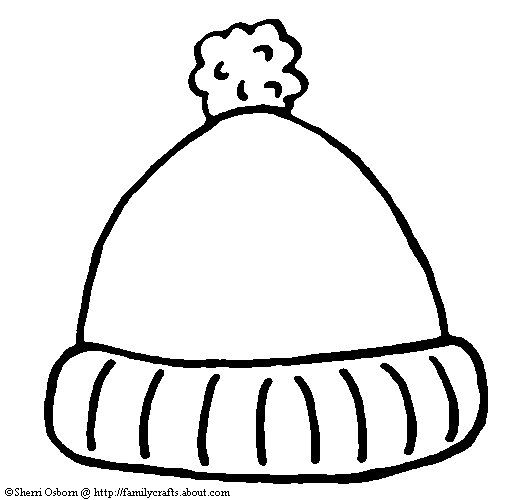 Winter hat hat template ideas on pirate hat crafts clipart.