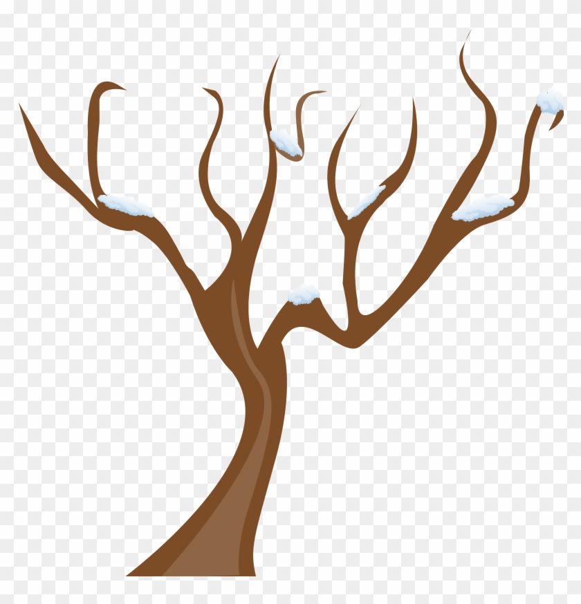 Clip Art Brown Tree Branches.