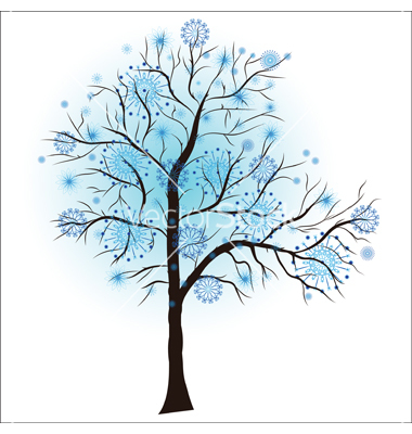 Clipart: Winter Tree.