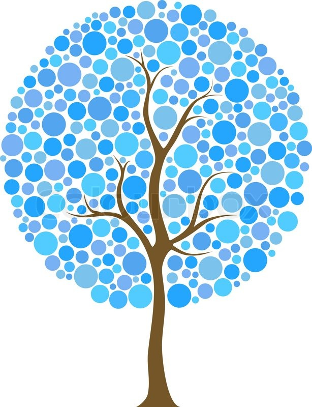 Tree Clipart Circle.
